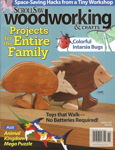 Scroll Saw Woodworking Magazine