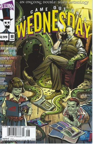 IT CAME OUT ON A WEDNESDAY from Alterna Comics